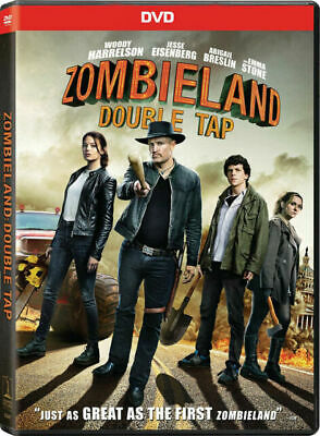 Zombieland: Double Tap (2019) DVD BRAND NEW ***FREE SHIPPING***