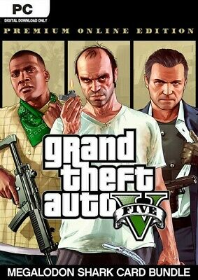 Grand Theft Auto V PC Premium Edition - Epic Games Account GLOBAL + 10€ DISCOUNT