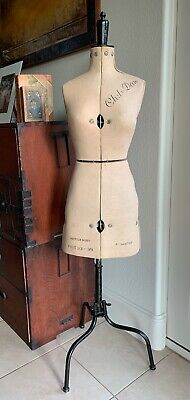 Vintage CHIL DAW adjustable dress form/ mannequin w/stand Very good condition