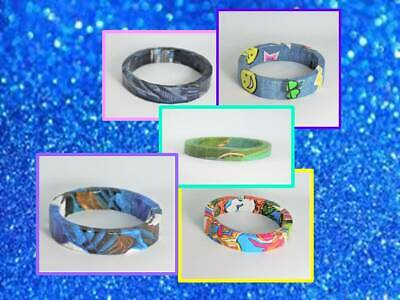 Handcrafted Paper Bangles