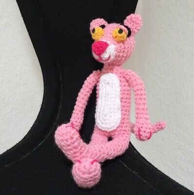 The Pink Panther Ami - Free Pattern | 400x398