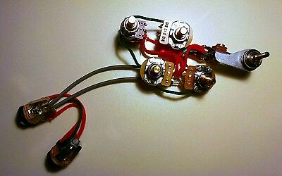 Perfect for Rickenbacker 1960/'s Style 4 Control Mono Wiring Harness
