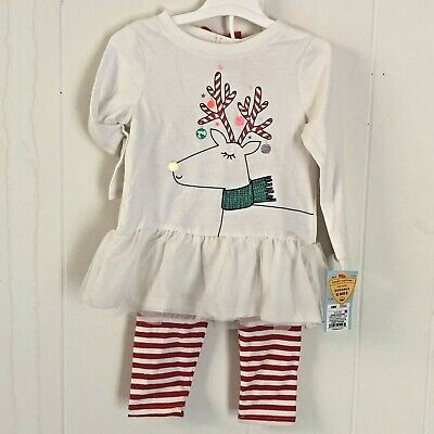 Gymboree State Fair Day 3-6 12-18 mo Cherry Romper 2 Piece Set Red Striped