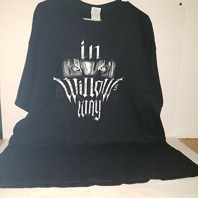 """Official TNA Impact Wrestling Willow /""""Mask/"""" T-Shirt"""