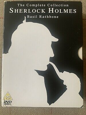 Sherlock Holmes - The Complete Collection (DVD, 2005, 7-Disc Set)