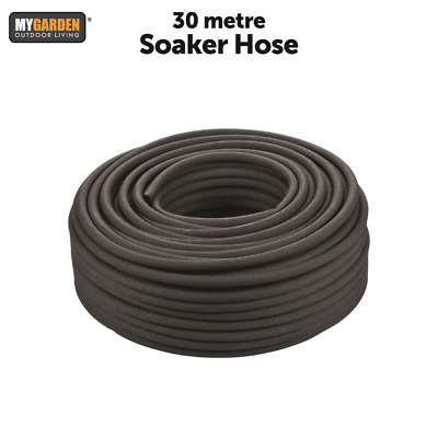 30M Garden Porous Soaker Hose – Automatic Drip Leaky Watering System Irrigation