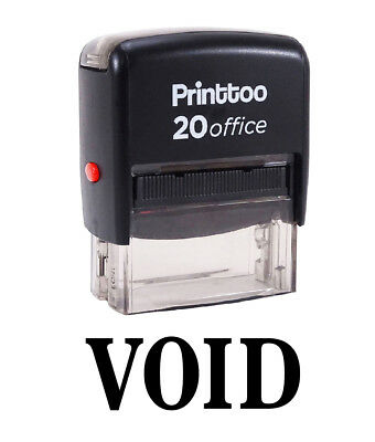 VOID Self Inking Rubber Stamp Custom Shiny S-842 Office Stationary Stamp
