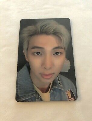 Official RM Photocard from BTS Lights Boy With