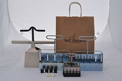 Soil Blocking Culmination Gardening Gift Set