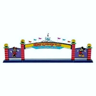 "SALE!! Walt Disney World "" MAIN ENTRANCE SIGN "" in Color 3D Metal Earth Kit NEW"