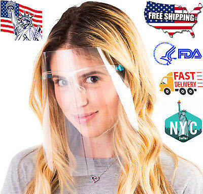 Goggle Face Shield Full Protection Cover Clear Face Protector Safety Face Shield