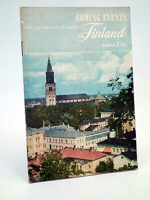 FOLLETO TURÍSTICO COMING EVENTS AND INFORMATION ON TRAVEL IN FINLAND 2 (No ac..