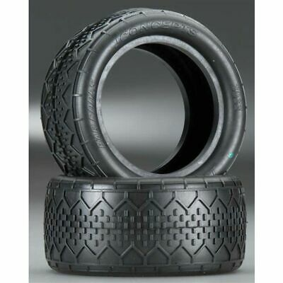 JConcepts 301606 Bar Codes 1//10th Buggy Rear Tires Silver Compound