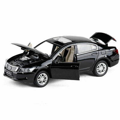 1:32 Honda Civic Type R Model Car Diecast Toy Vehicle Kids Gift with Stand Black