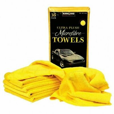 Kirkland Microfibre Ultra Plush Eurow 40cm Microfiber Car Cloth 36 x 2 Towels .