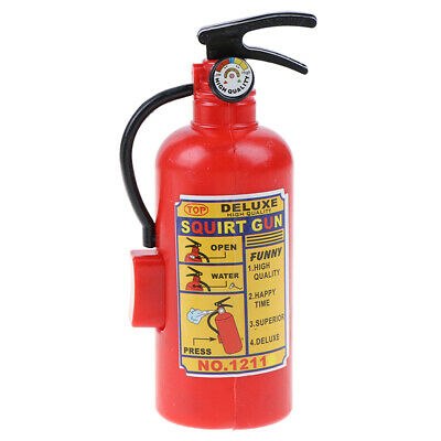 29cm Plastic Water Squirt Pistol Fire Extinguisher Style Creative Toy Gift