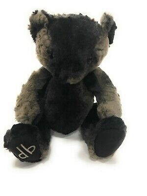 Dennis Basso Signature Faux Fur Plush Bear Swirl Leopard NEW