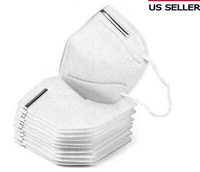 KN95 Face Mask Disposable Mouth Cover Protective Respirator Covers