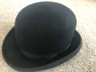 Austin Reed Of Regent Street Men S Black Bowler Hat Size 6 7 8 35 99 Picclick Uk