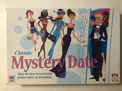 Mystery Date Classic Board Game With Nostalgic Tin Case Winning Solutions 22505