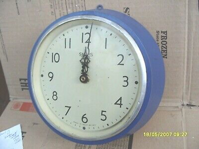 Wall  Clock Old Clock Case  Smiths  Converted To  Battery