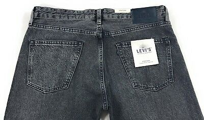 LEVIS MADE & Crafted Studio Taper Jeans Mens Dark Gray