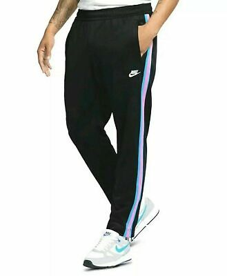 NIKE MEN SPORTSWEAR Tribute OH track Pants Black Spirit Teal
