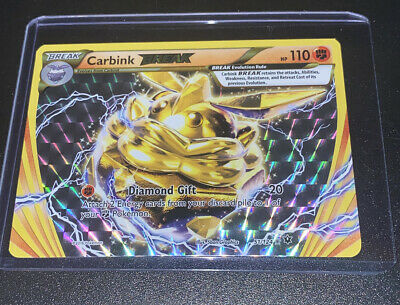 51//124 2x Carbink Break Break Rare NM Pokemon XY Fates Collide