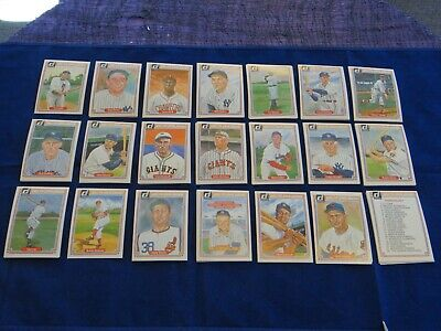 1983 Donruss Hall of Fame Heroes Lot Of 90+ Mantle, Cobb, Musial, Cy Young+++