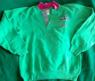 Best company olmes caretti felpa vintage 80-90 jumper tuta panchinaro sweater
