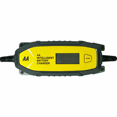 Aa Branded 4A 12V Car 6V Van Bike Intelligent Smart Battery Charger Maintainer