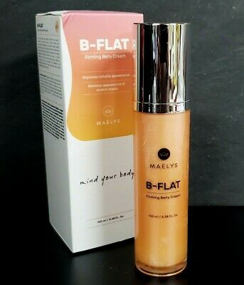 Maelys B Flat Firming Belly Cream Cellulite Reduction 3 38oz New