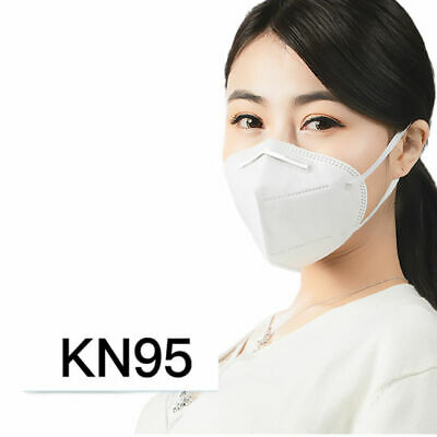 10 PCS KN95 Protective 5 Layer Face Mask Disposable Respirator BFE 95% PM2.5