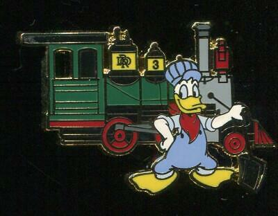 DLR Disneyland Railroad Donald Duck with Fred Gurley Disney Pin 68113
