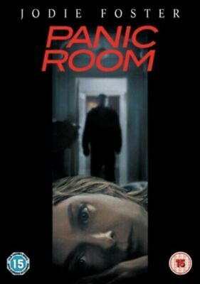 PANIC ROOM DVD (2002), CERT 15, FAST & FREE, 1st CLASS POSTAGE, JODIE FOSTER