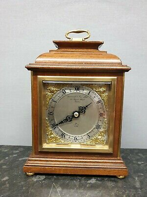 Quality English Vintage Garrard 8 Day Mantle Clock with Elliott Movement