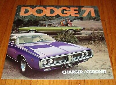 1971 Dodge Coronet Charger Wiring Diagram Manual 71 9 00 Picclick