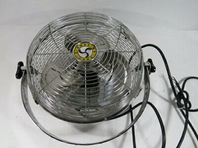 Airmaster I-12YM 60W 120V 60Hz 0.55A Wall Mounting Fan  USED