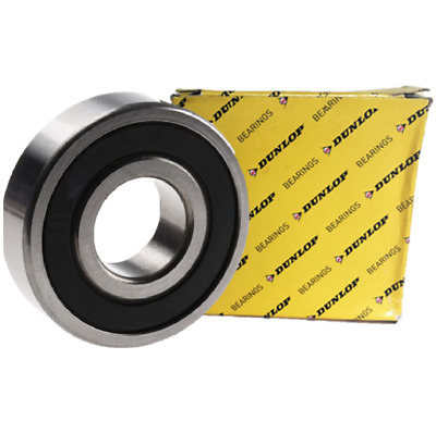 6200 - 6215 (DUNLOP) 2RS Rubber Sealed Bearings - High Quality