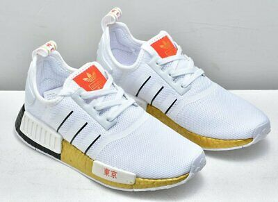 ADIDAS ORIGINALS WOMEN'S NMD_R1 Sneaker, Gold, Size 5.0 XdlE
