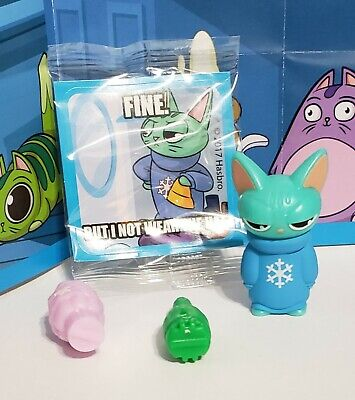 Hasbro Lost Kitties Collectible Figure Mr Meh Series 2 #NotFelineIt Figure Only