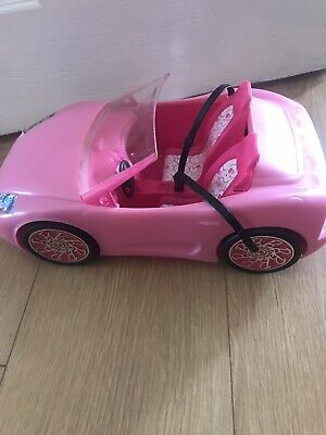 Mattel Barbie Pink Glam Convertible 2010 Sport Car