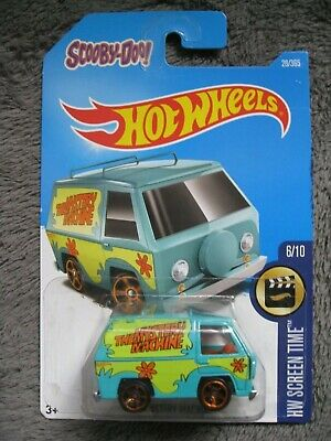 Hot Wheels HW SCREEN TIME NINJA TURTLES BARBIE SNOOPY JETSONS HALO lot of 11 dif