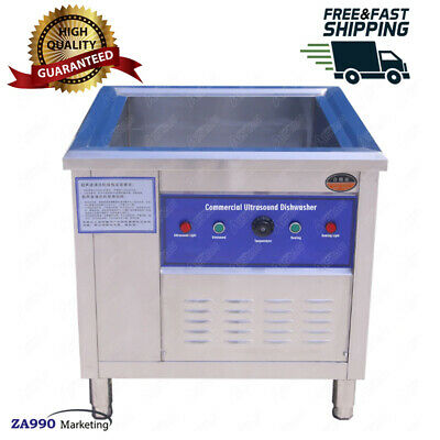 Commercial 3000W Automatic Ultrasonic Dishwasher Machine