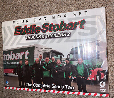 Eddie Stobart - Trucks and Trailers Complete Series 2 - 4 DVD 2012 New & Sealed.