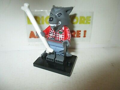 NEW LEGO Wolf Guy Series 14 FROM SET 71010 COLLECTIBLES col14-1