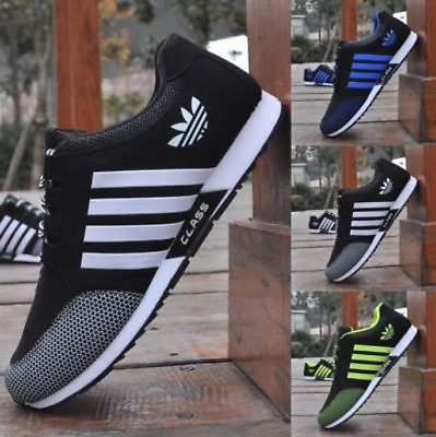 Men Sports Shoes Women Trainers Casual Gym Fitness Lace Up Running Sneakers UK