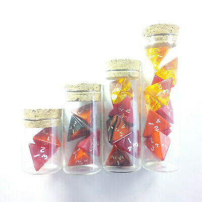 Gem Blitz Red Potion Of Healing Greater Superior Supreme Vial Set D4 Dice 5E D/&D