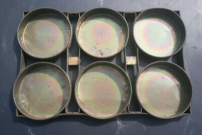 """Ekco H 9 Engineered Commercial Strapped Baking Pan 6 Part 6"""" Pans 19.5"""" X 13"""""""