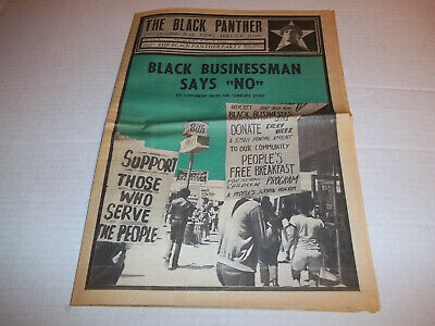 1970  Huey Newton  VG+ 24 Details about  /Black Panther Newspaper Oct